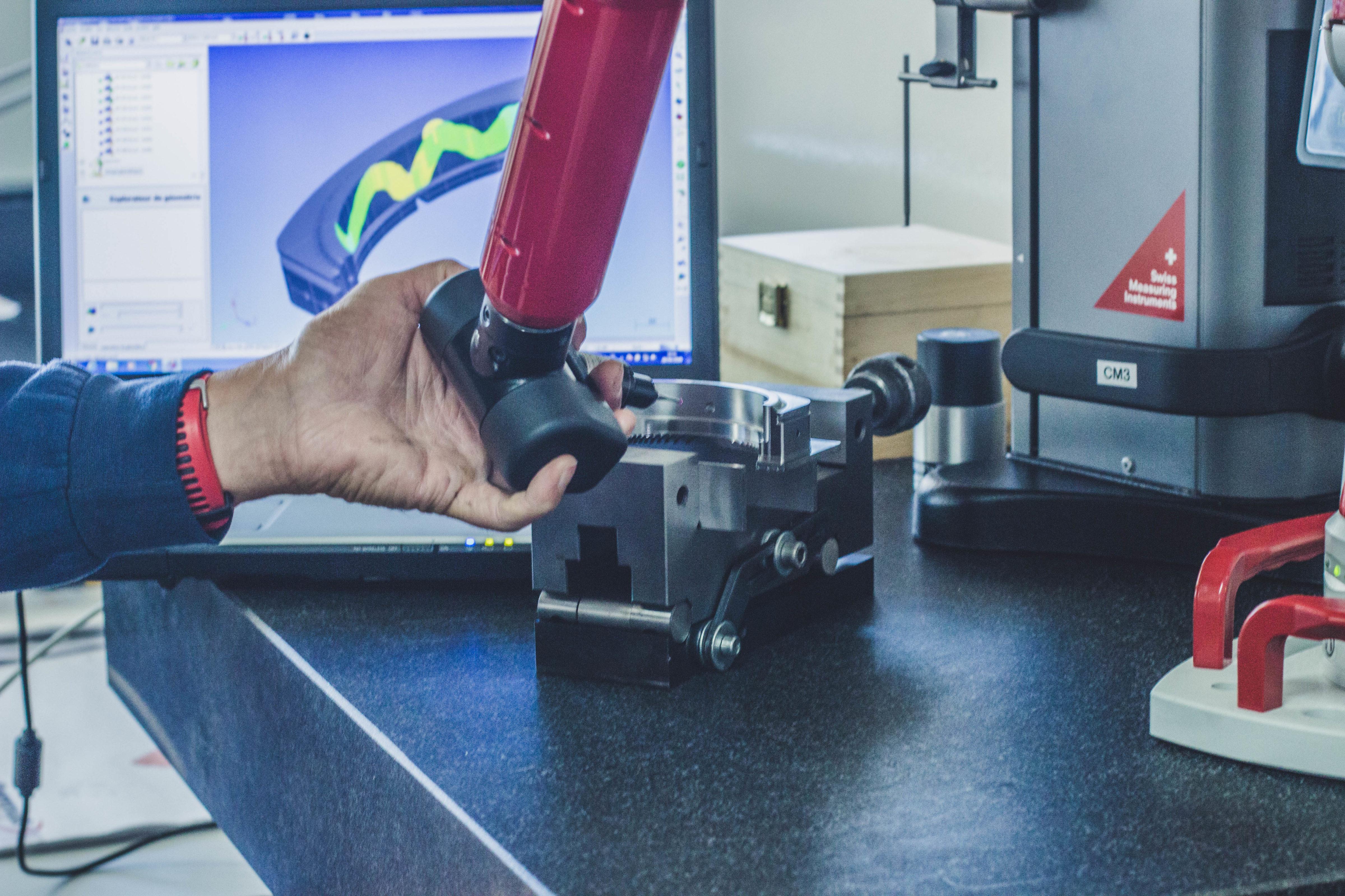 Bras de mesure 3D Romer